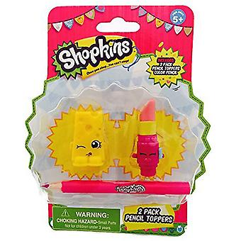 Shopkins blyant Topper Lippy læber og Chee Zee
