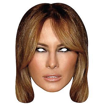 Melania Trump presidentsvrouw gezicht masker gezicht Halloween carnaval