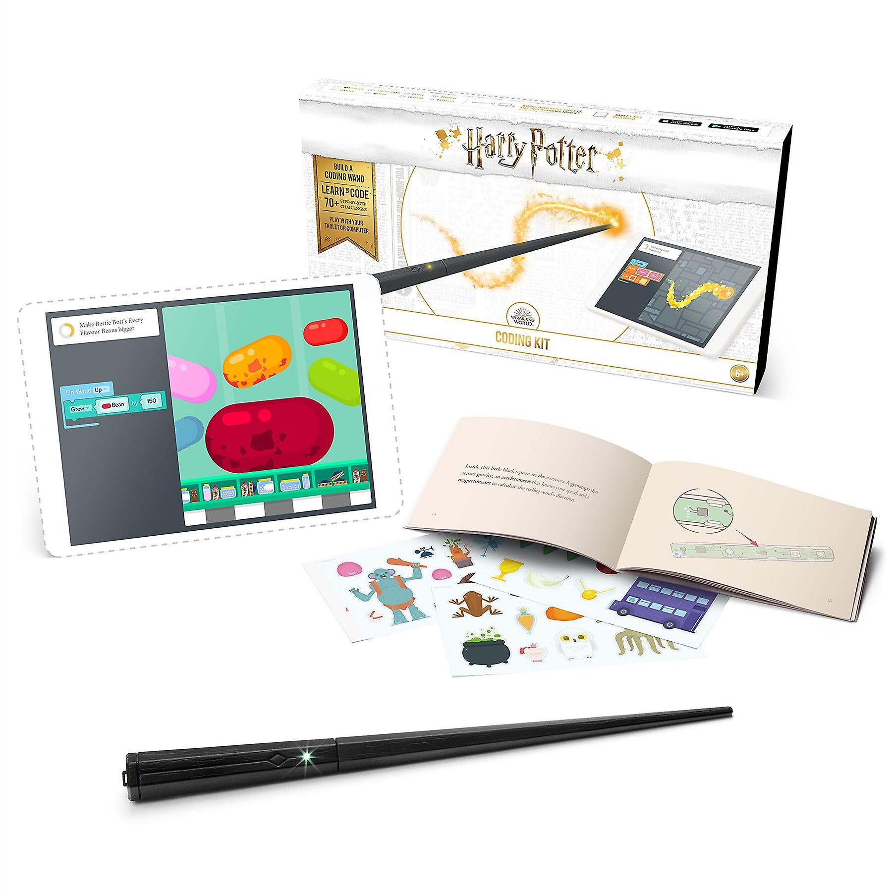 Kano Harry Potter Coding Kit Build a Wand. Learn To Code. Make Magic.