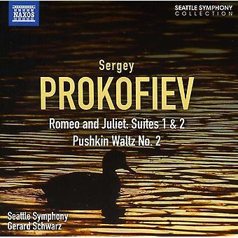 S. Prokofiev - Prokofiev: Romeo & Juliet Suites nr 1 & 2 [CD] USA import