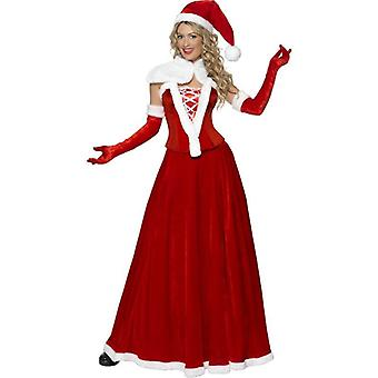Smiffy's Luxury Miss Santa Costume