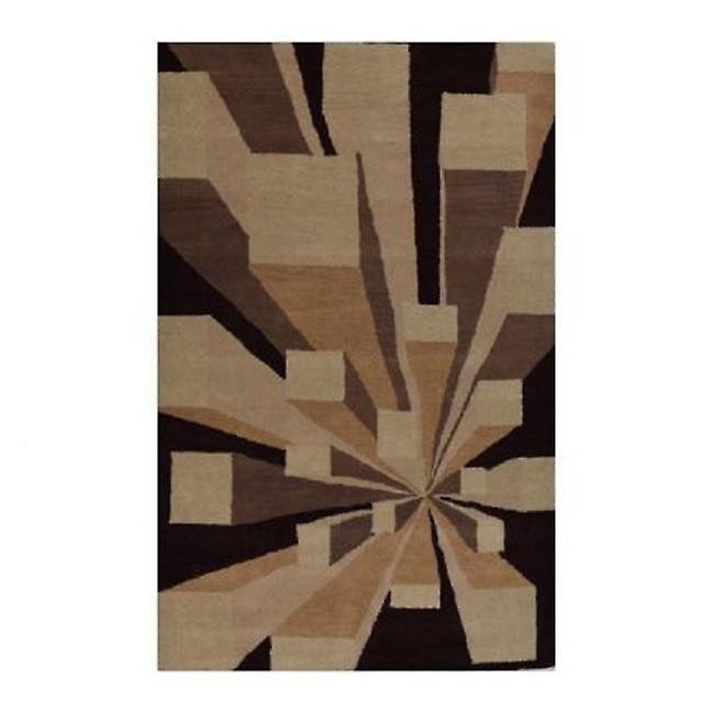 Wool Rugs Made In India: Hand Tufted 3d Block Wool Rugs (made In India)