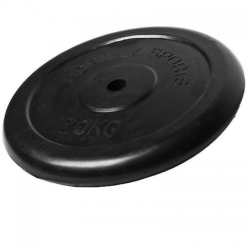 Poids disque en caoutchouc de 20 kg