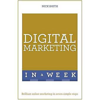 Digital markedsføring i en uke - Brilliant Online markedsføring i syv Simp
