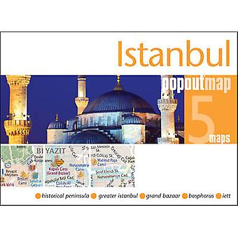 Istanbul Popout Map by PopOut Maps - 9781910218242 Book