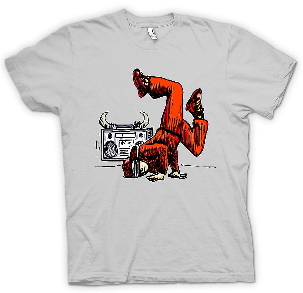 Herr T-shirt - Breakdancing - Hip Hop - färg
