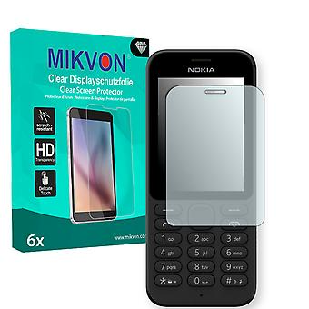 Nokia 215 Dual Sim Screen Protector - Mikvon Clear (Retail Package with accessories)