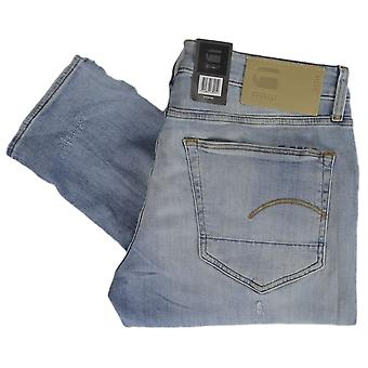 G-Star 3310 Slim Elto Superstretch petit ans détruire Slim Fit Jeans