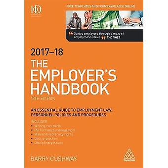 The Employer's Handbook 2017-2018 by Barry Cushway - 9780749479534 Bo