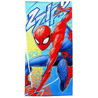 Spider Man Spiderman Zzipp Towel Bath Towels