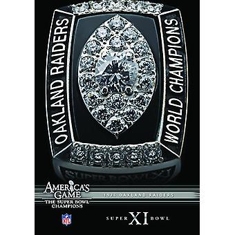 NFL Amerikas spillet: 1976 Raiders (Super Bowl Xi) [DVD] USA importere