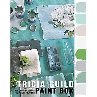 Tricia Guild verf Box: 45 paletten voor het kiezen van kleur, textuur en patroon