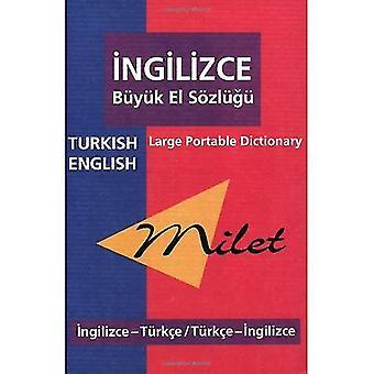 Milet Turkish-English/ English-Turkish Large Portable Dictionary