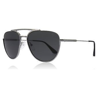 Prada PR50US 5AV5S0 Gunmetal PR50US Pilot Sunglasses Lens Category 3 Size 56mm