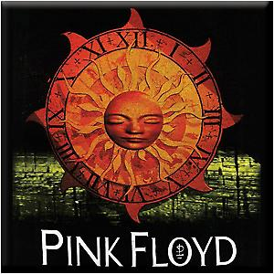 Pink Floyd Sun steel fridge magnet from the USA