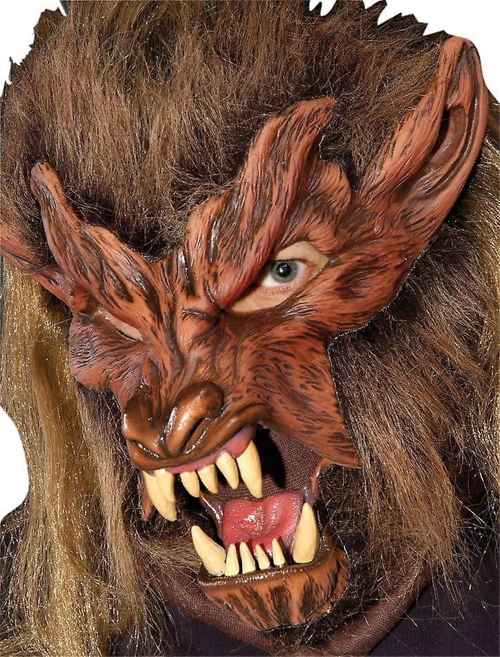 Lone Wolf masque en Latex pour HalFaibleeen