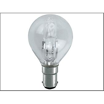 Eveready Lighting G45 ECO Halogen Bulb 28 Watt (36 Watt) SBC/B15 Small Bayonet Cap Box 1