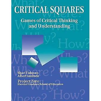 Kritisk ruter spill av kritisk tenkning og forståelse av Tishman & Shari