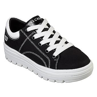 Womens Skechers Street Cleat Bring It Back Flatform Fashion Gym Trainers