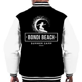 Bondi Beach Summer Camp Men's Varsity Jacket