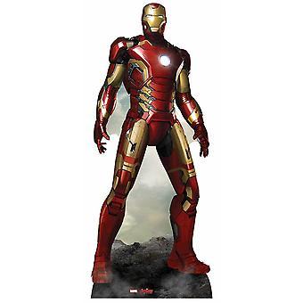 Jern mann Avengers alder av Ultron Marvel Lifesize papp åpning / Standee / Standup