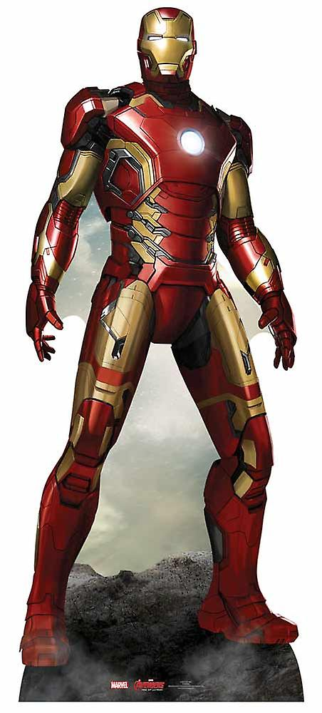 Iron Man Avengers Age of Ultron Marvel Lifesize Cardboard Cutout / Standee / Standup