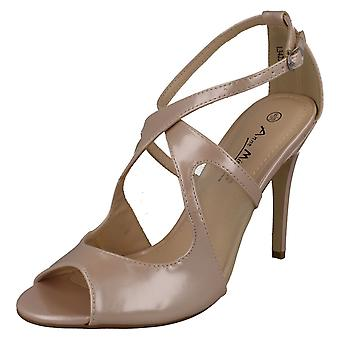 Ladies Anne Michelle Casual Stiletto Heel