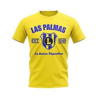 Las Palmas Established Football T-Shirt (Yellow)