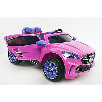 RideonToys4u Mercedes Style 12V Electric Ride on Car With Leather Seats and