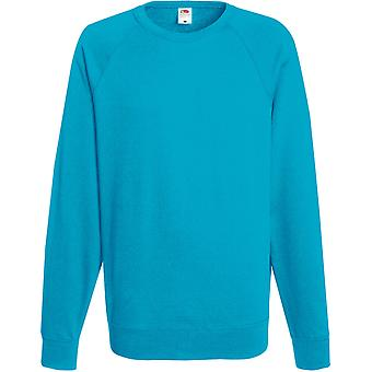 Fruit Of The Loom - Lightweight Raglan Mens Sweatshirt - Sports - Workwear - Gym