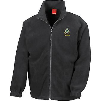 Sherwood Foresters Veteran - Licensed British Army Embroidered Heavyweight Fleece Jacket