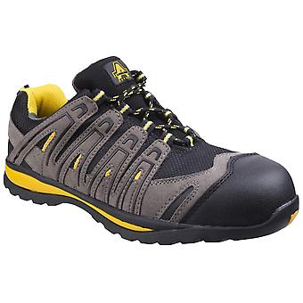 Amblers Safety Mens FS42C Metal Free Lace Up Safety Trainer
