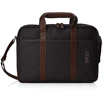 Bree 369718 Unisex Adult Grey shoulder bag (Gray (Ant./D. Br. 988.0)) 8.0x29.0x38.0 cm (B x H x T)