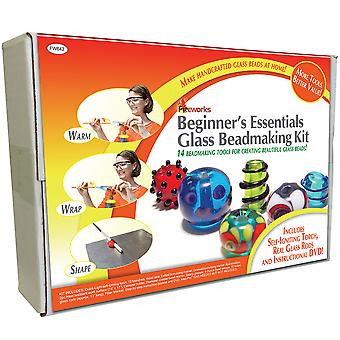 Fireworks Beginner's Essentials Glass Bead Making Kit- FW642