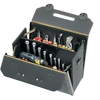 Parat Toolbox TOP-LINE 17000581 Dimensions: (W x H x D) 510 x 400 x 230 mm Calf leather, side walls made from HDPE plast