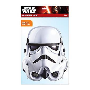 Oficial de stormtrooper Star Wars tarjeta Fiesta mascarilla