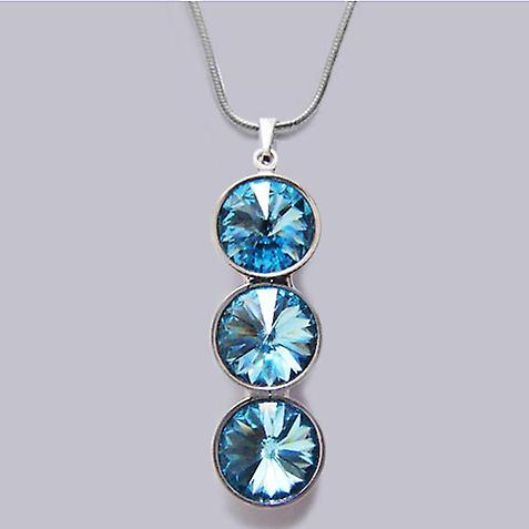 Necklace with Crystal pendant PMB 4.2