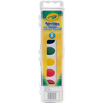Crayola Washable Watercolors-8 Colors 53-0525