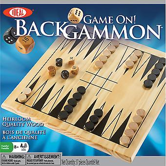 Game On! Backgammon Game- 37256BL