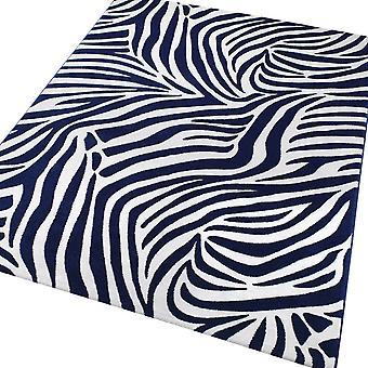 Weconhome Zebra Teppiche 0729-02 blau