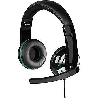 Gaming headset 3.5 mm jack Corded Hama XBOX ONE Headset Insomnia Ice Over-the-ear Black