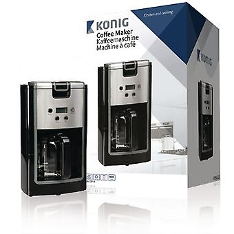 König coffee machine with timer