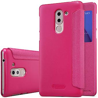 Nillkin smart cover Pink for Huawei honor 6 X lomme case case case beskyttelse