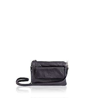 Silverdale Across Body Organiser Bag in Black