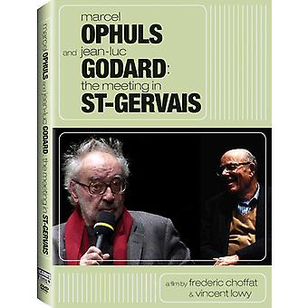 Marcel Ophuls & Jean-Luc Godard: Meeting in [DVD] USA import