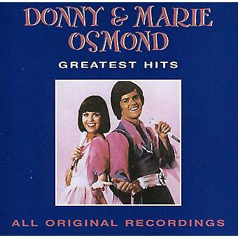 Donny Osmond & Marie - Greatest Hits [CD] USA import