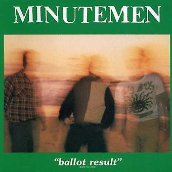 Minutemen - afstemning resultat [CD] USA importerer