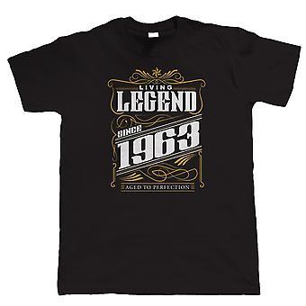 Legende siden 1963 Herre sjov T Shirt