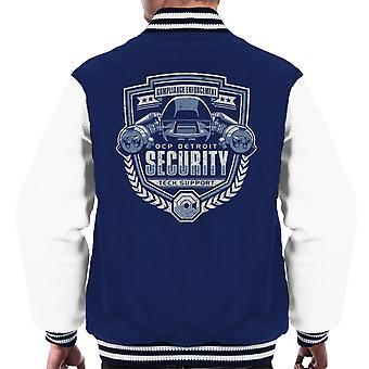 Overholdelse håndhævelse RoboCop mænds Varsity jakke