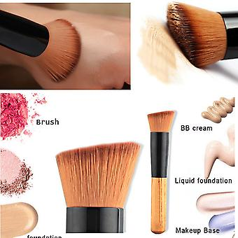 Boolavard Foundation Brush - Liquid Foundation Brush - Face Makeup-borstar - Concealer Brush - Blending Brush - Make Up